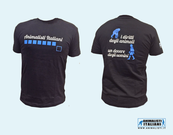 T-Shirt Istituzionale_ Animalisti Italiani